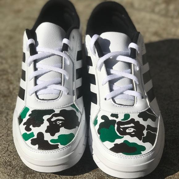 le adidas usanza bape scarpe poshmark